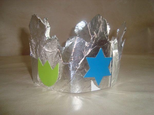 couronne (papier alu)
