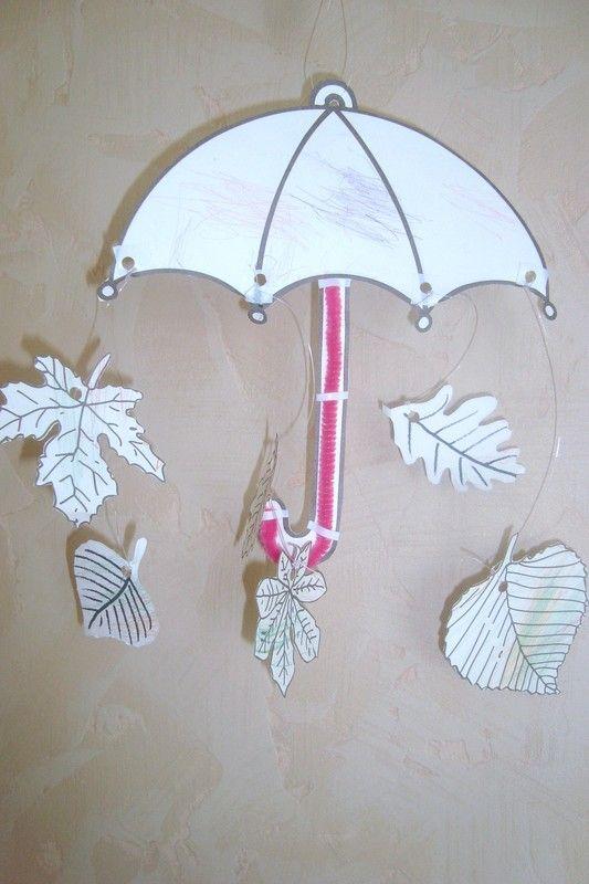 Saison automne - Parapluie dessin ...